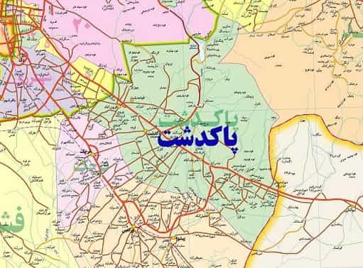 معرفی شهرستان پاکدشت